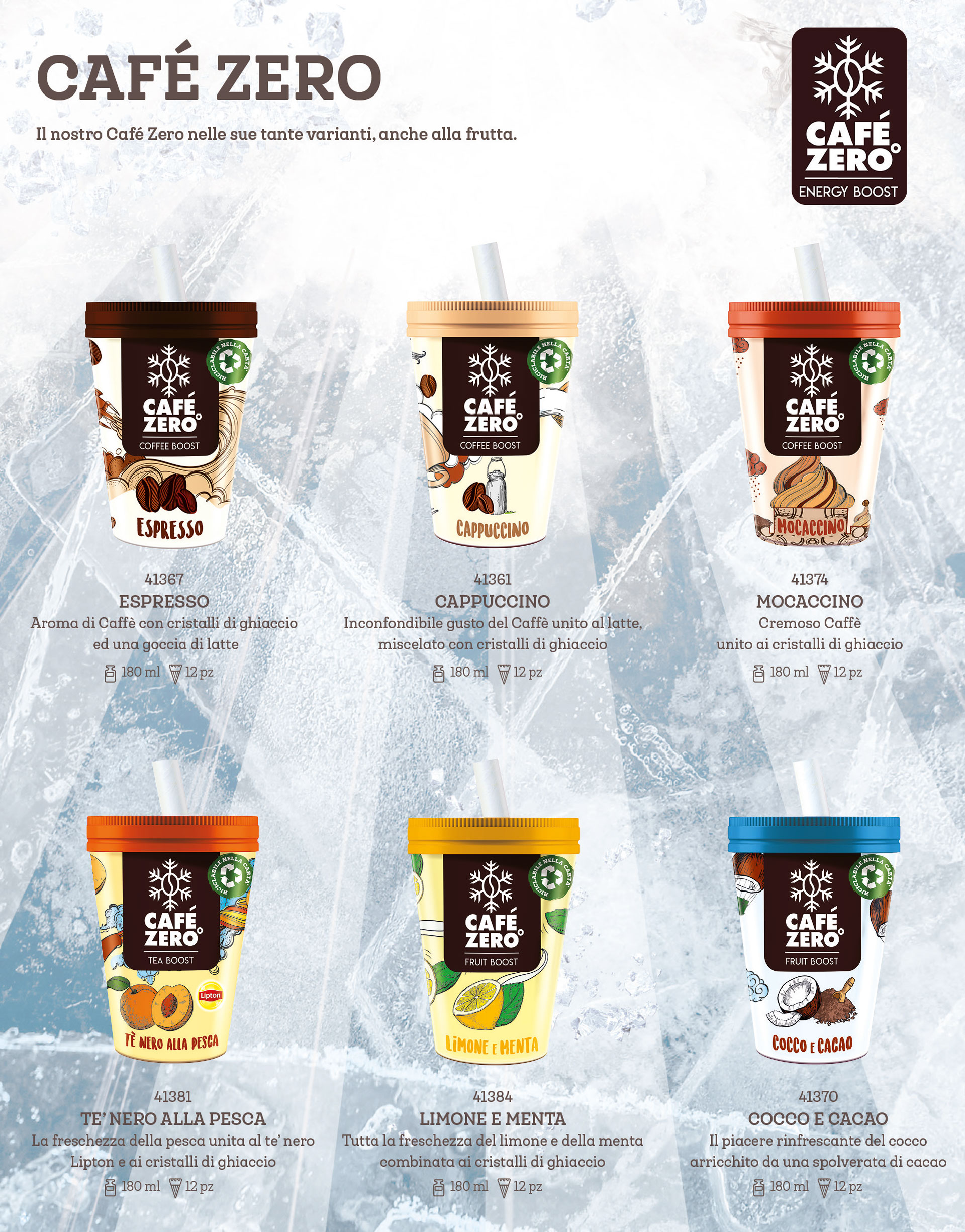 catalogo cafe zero algida